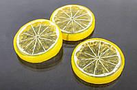 Мандарин декоративный Life, форма круглая, желтый, пластик, товары для дома, фрукты для скрапбукинга