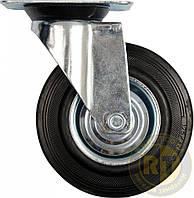 Колесо/тележки поворот/чер.резина 75 мм Vorel 87311