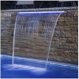 Стеновой водопад Emaux PB 900–25(L) с LED подсветкой