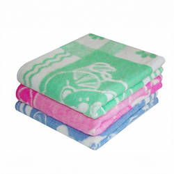 Одеяло детское хлопковое 100х140см