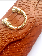Кожаный женский лаковый кошелек, портмоне