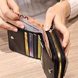 Гаманець маленький жіночий. Стильні гаманці. Якісні гаманці. Гаманці і сумки., фото 7