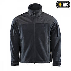M-Tac куртка Hexagon Alpha Microfleece Jacket Black