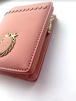 Женский розовый кошелек, портмоне, аксессуары Украина , клатч