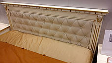Кровать двуспальная деревянная с мягким изголовьем Freedom (Фридом) Микс мебель, фото 2
