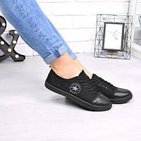 Кеды женские Light черные 4426, кеды женские осенняя обувь