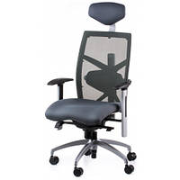 Кресло SPECIAL4YOU EXACT SLATEGREY FABRIC, SLATEGREY MESH (E0598)