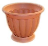 Пластмассовый горшок для цветов Амалия 23