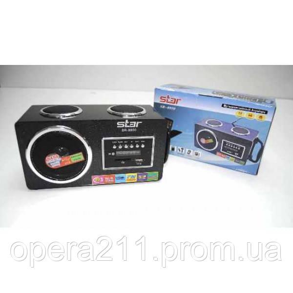 Портативные MP3 колонки  USB SD карт FM Star 8950