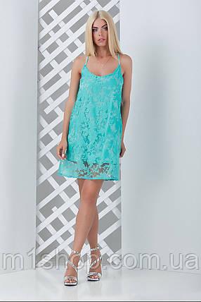Женское летнее плетье из органзы (Лиана mrb), фото 2