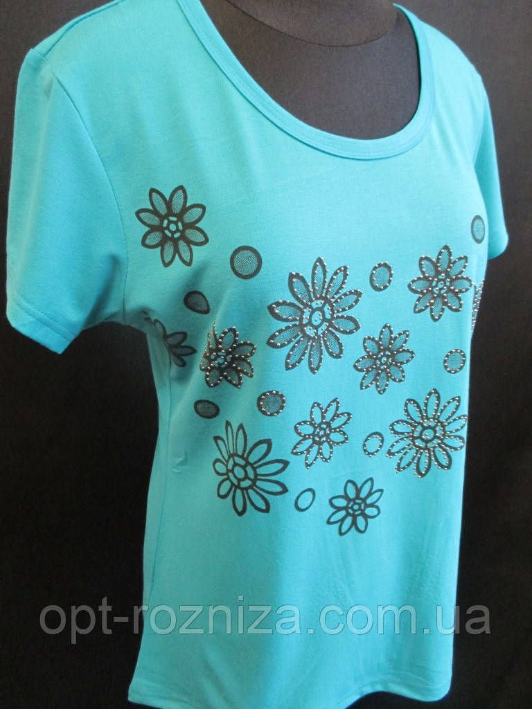 Трикотажні жіночі футболки на літо