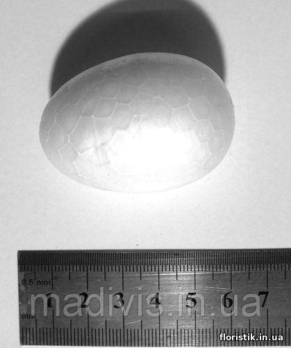 Яйцо из пенопласта 5 х 3,5 см.