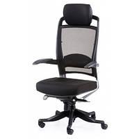 Кресло Special4You FULKRUM BLACK FABRIC, BLACK MESH (E0611)