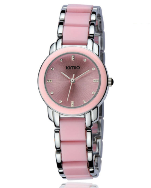 Женские часы Kimio 455 Pink Silver