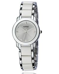 Женские часы Kimio 455 White Silver