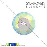 Пуговица Swarovski 3014 Crystal AB, 14 мм, Круглая, 1 шт. (PUG-005517)