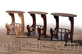 Стол деревянный журнальный «Газетница» для офиса