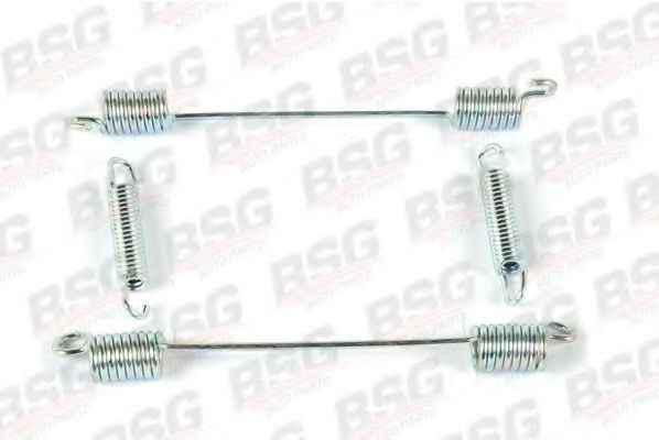 BSG 30-260-002 Комплект пружин задніх колодок -R/L (4 Частини) FORD CONNECT