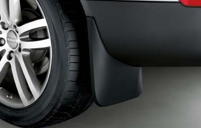 Брызговики Audi Q7 S-line (15-), задние кт. 2 шт