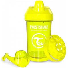 Чашка-непроливайка 300 мл., от 8 мес., желтая, Twistshake 78066