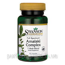 Комплекс Антиоксидантів Full Spectrum Amalaki Complex, Swanson, 60 капсул