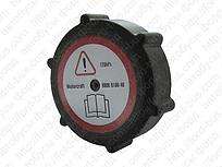 BSG 30-551-002 Кришка розширювача бачка радіатора -чорна FORD TRANSIT TURBO
