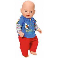 Набор одежды для куклы Baby Born - Малыш на прогулке (красные штаны), Zapf
