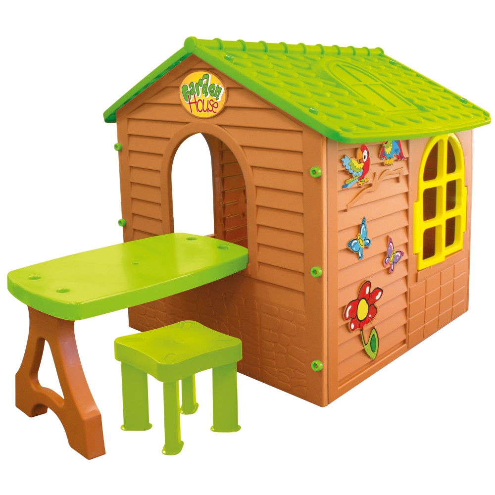 Детский игровой домик Garden House со столиком
