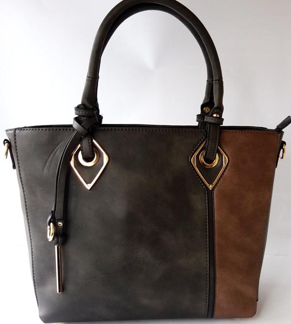 91c2d7a47f47 Классическая женская сумка из прессованной кожи - Интернет-магазин стильных  сумок