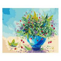 Рисование по номерам Земляничный аромат, Цветы, Идейка
