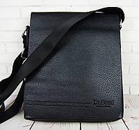 Кожаная мужская сумка Bond. Сумка через плечо. Сумка планшет. Стильная сумка. Качественная сумка.