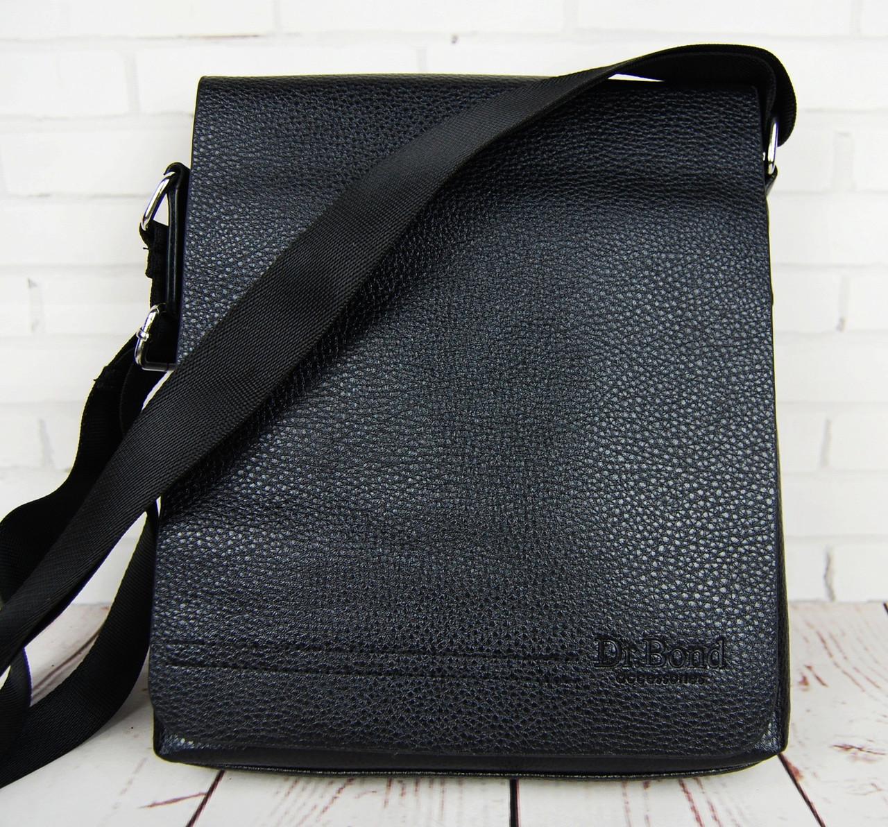 ec88ca25b088 Кожаная мужская сумка Bond. Сумка через плечо. Сумка планшет. Стильная сумка.  Качественная