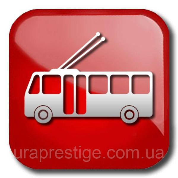 Наружная реклама на троллейбусах