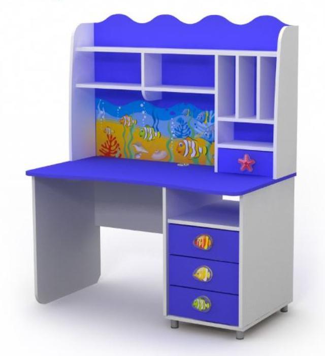 Письменный стол Оd-08-1 Ocean с надстройкой