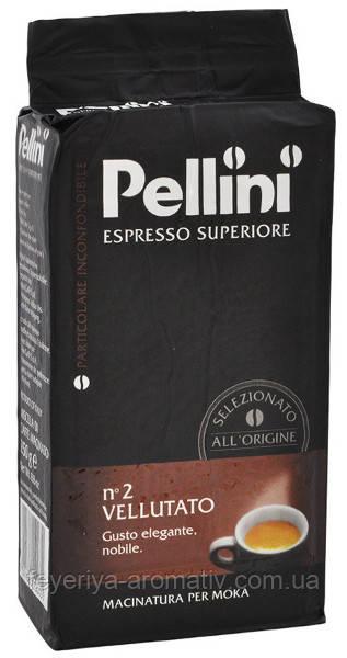 Кофе молотый Pellini Espresso Superiore n2 Vellutato 250гр. (Италия)