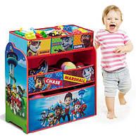 Комод / ящик / органайзер для детских игрушек Delta Щенячий патруль