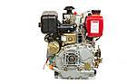 Двигатель дизельный Weima WM178FЕ (6,0л.с.,под шлиц), фото 4