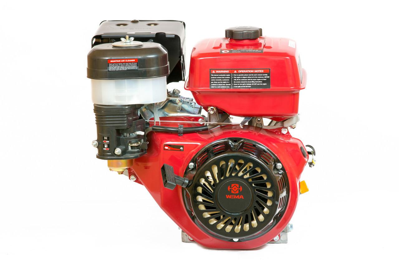 Двигун бензиновий Weima WM177F-T (9,0 л. с.,вал під шліци)