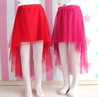 Модная юбка для девочек Кармен размер 8-9-10-11-12 лет