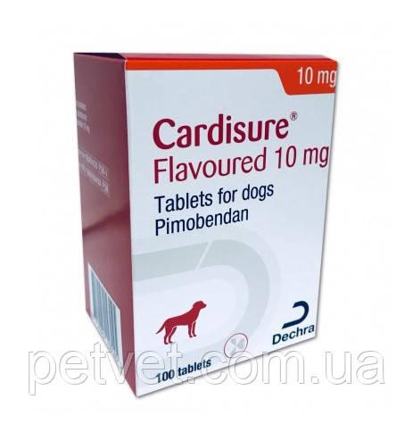 Кардишур (Cardisure) 10 мг. 100 табл., (Пимобендан), фото 1