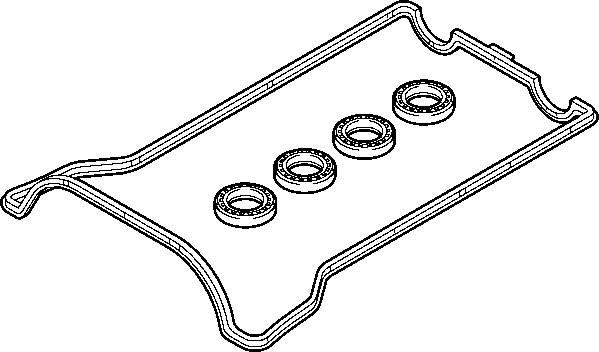 ELRING 899.917 Прокладка клапанной крышки MERCEDES M111