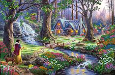 """Схема для вышивания бисером """"Сказочный лес"""" PA-1292"""