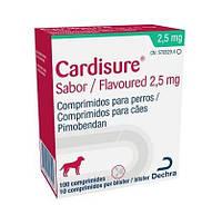Кардишур (Cardisure) 2.5 мг. 100 табл. Аналог Ветмедин.