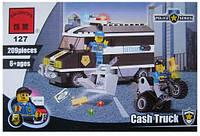 Конструктор Brick 127 Ограбление инкассаторского фургона