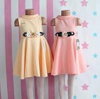 Детское нарядное платье фактурный трикотаж размер 5-6-7-8 лет