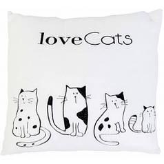 Подушка Love cats, Тигрес ПД-0169