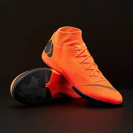 Футзалки Nike MercurialX SuperflyX 6 Academy IC AH7369-810 (Оригинал), фото 2