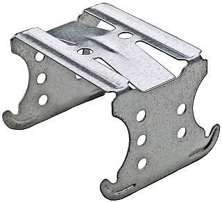 Соединитель крестовой двухуровневый для потолочного CD профиля