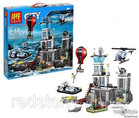 Конструктор Lele 39016 ¨Остров-тюрьма¨(Lego City 60130) 830 дет.