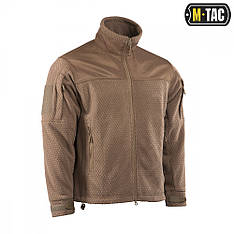M-Tac куртка Hexagon Alpha Microfleece Jacket Coyote